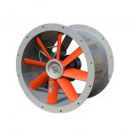Convector - axial duct fan WOKTS - single phase