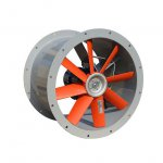 Convector - WOKTS axial duct fan - three-phase single-speed